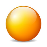 Vector glossy ball