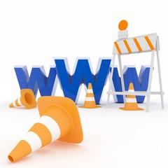 3-d Visualization Web-design Concept