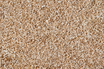 abstract background of sawdust close up