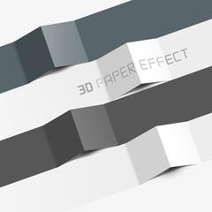 3d paper effect