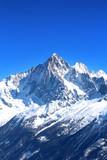 Fototapety Aiguille Verte - Massif du Mont-Blanc (Haute-Savoie)