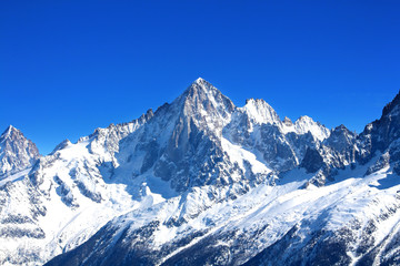 Aiguille Verte - Massif du Mont-Blanc (Haute-Savoie)