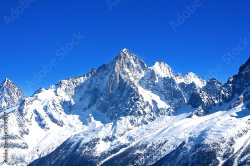 Aiguille Verte - Massif du Mont-Blanc (Haute-Savoie) - 50758837