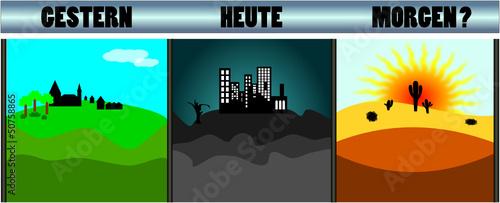 Landschaft 3x
