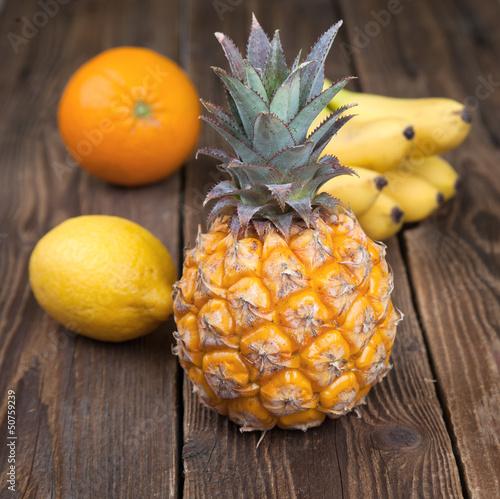 Fruit Mix on wood III