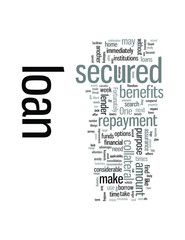 Secured loans and benefits