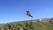 Motocross Racer Jump