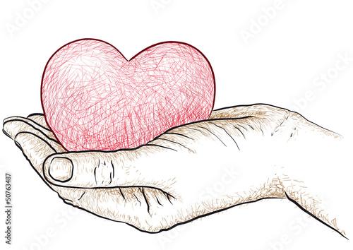 cuore in mano © robodread