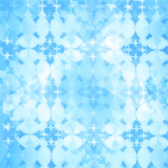 Blue abstract geometric background