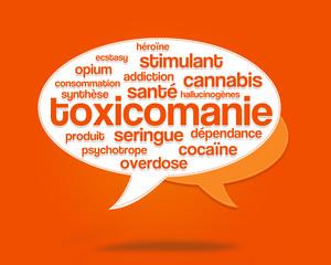 nuage de mots : toxicomanie