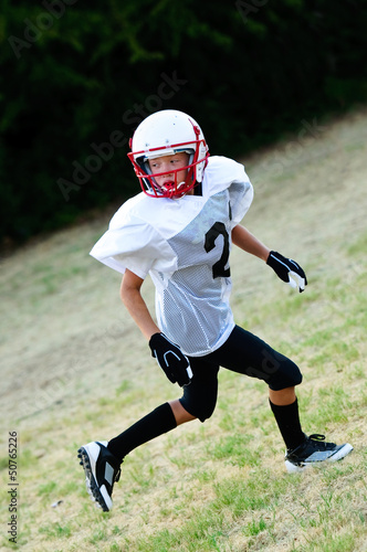 Young football receiver