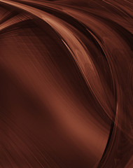 Abstract grunge brown background