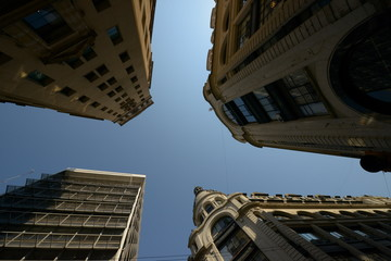 Picture of  high buildings in Buenos Aires