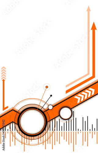 vector_background_orange