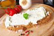 bread with creamcheese - Frischkäsebrot