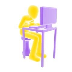 deskwork yellow