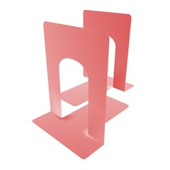 red bookstand