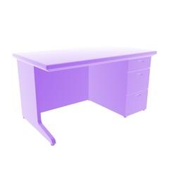 desk violet