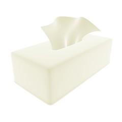 tissue white
