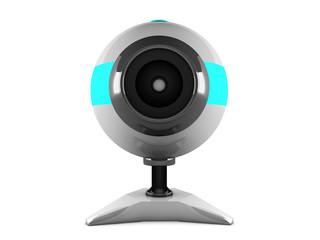 web camera isolated of white background