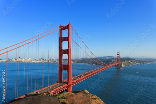 Leinwanddruck Bild Golden Gate Bridge