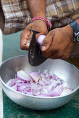 machine knife for cutting vegetables and coconut