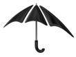 Black umbrella icon