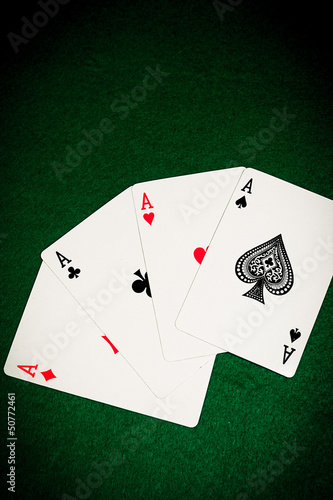 games card aces