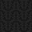 Black seamless lace pattern