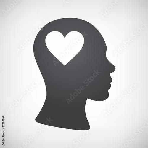 Kopf mit Herz