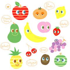 果物のキャラクター