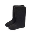 Russian traditional winter felt boot valenki