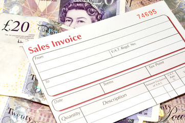 Sales Invoice And Cash