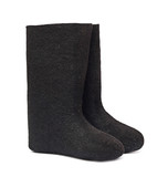 Russian winter felt boot valenki