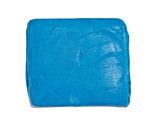 close up of an blue kneaded eraser (putty rubber) poster