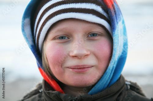 canvas print picture Portrait eines Jungen