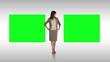 Businesswoman making a presentation