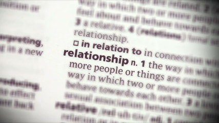 Focus on relationship