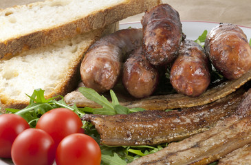 Carne grigliata al Barbecue