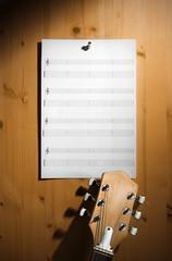 blank guitar tab sheet
