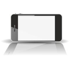 smartphone horizontal - mirror