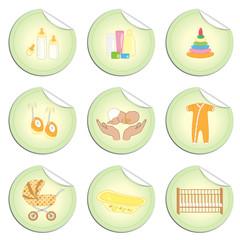 Newborn stickers 4