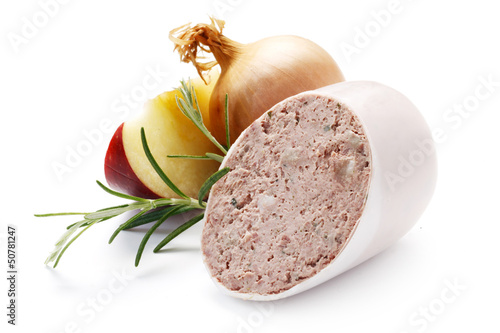 Apfel-Zwiebel-Leberwurst