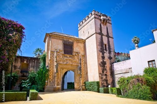 Foto op Canvas Milan Gate to Real Alcazar Gardens in Seville, Spain.