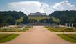 Gloriette arch in Schonbrunn park, Vienna, Austria