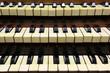Claviers d'orgue
