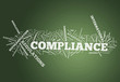 "Word Cloud ""Compliance"""