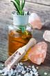 Rosmarin und Salz