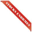 étiquette bordure stocks énormes