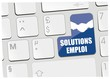 clavier solutions emploi